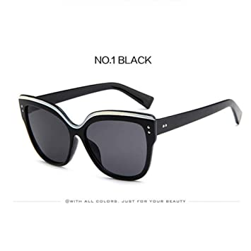 LLLM Gafas de sol Ojo de Gato Gafas de Sol Mujeres Diseñador ...