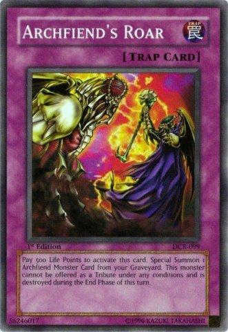 Yu-Gi-Oh! - Archfiend's Roar (DCR-099) - Dark Crisis - Unlimited Edition - Common