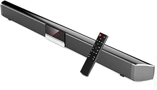 QOUP Barras de Sonido para TV, Wireless Bluetooth 5.0 Home Theater ...