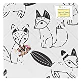 Fabric Memory/Memo Photo Bulletin Board for Black and White Fox Collection
