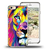 iPhone 6s Case Viwell iPhone 6/6s (4.7 Inch) Case, 2015 Unique Design fashionable Protective Cover Stained lion pattern