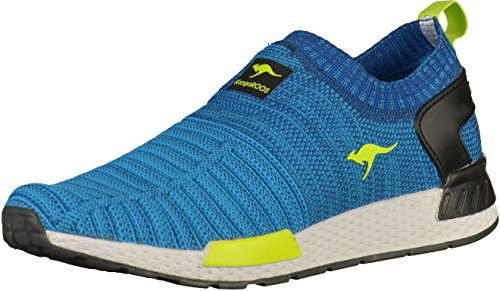Kangaroos 81050 Womens Sneakers Navy/Lime jJlDpAsz