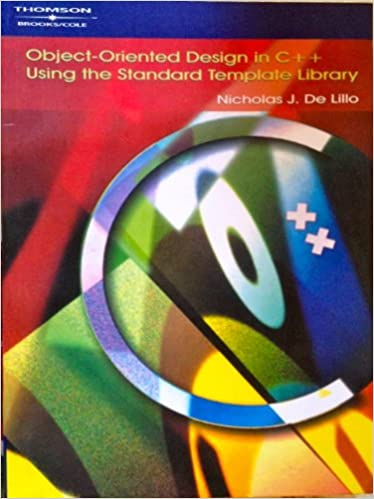Book Object-oriented Design in C++ Using the Standard Template Library