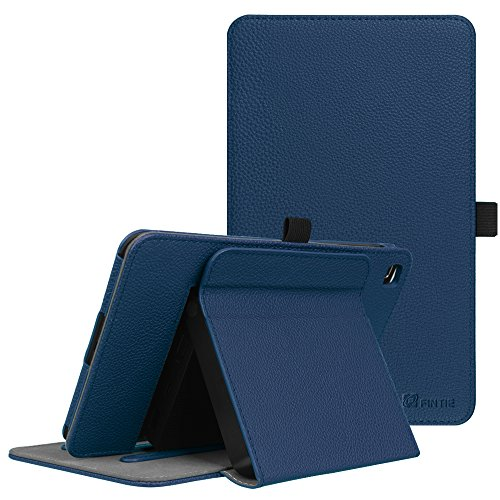 Fintie T-Mobile LG G Pad X2 8.0 Plus Case (Support Extra Battery Plus Pack), Multi-Angle Viewing Stand Cover for LG GPad X2 8.0 Plus T-Mobile Model V530 8-Inch Android Tablet 2017 Release, Navy