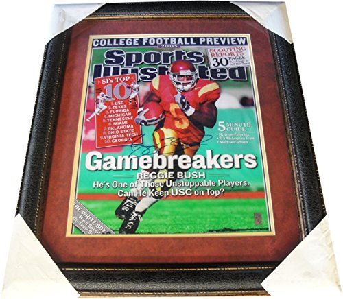 (Reggie Bush Hand Signed Autographed 16x20 Photo Custom Framed USC Trojans HOLO)