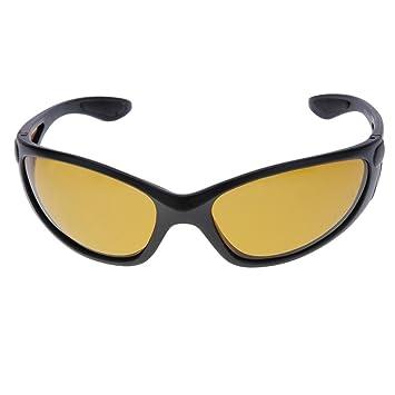 Pesca Andux gafas protectoras gafas polarizadas deportes Ciclismo gafas GL-05 Amarillo amarillo: Amazon.es: Deportes y aire libre