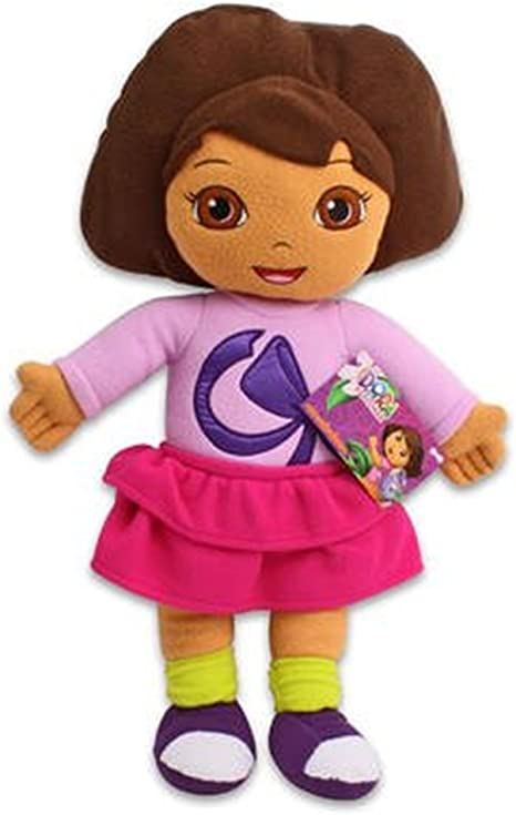 "Dora the Explorer Plush 8/"" BRAND NEW with TAGS"