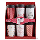 Wine Country Gift Baskets Travel Mug Gift Set (Red)