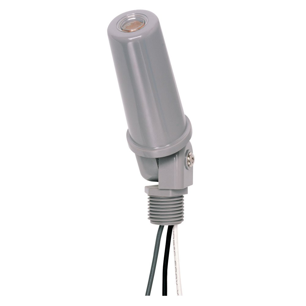 Intermatic K4221c 120 Volt Stem And Swivel Mount Thermal Photocell Sensor Further Fluorescent Light Fixtures On Wiring Diagram Photocontrol Home Improvement
