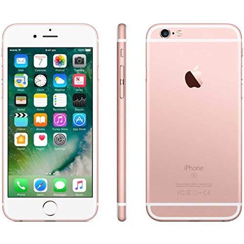 APPLE iPhone 6S, 16GB, Rose Gold - Fully Unlocked (Renewed)