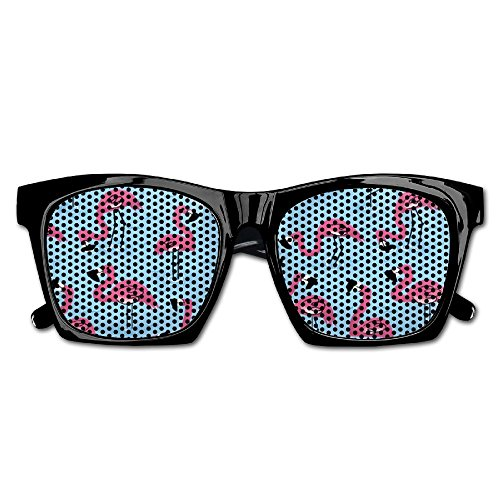 Elephant AN Themed Novelty Flamingos On The Water Wedding Visual Mesh Sunglasses Fun Props Party Favors Gift - People Ray Bans On