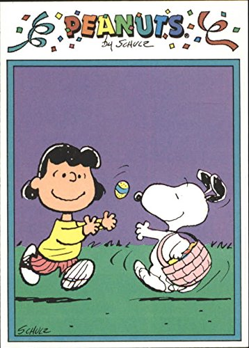 1991 Peanuts Previews American #22 Easter Beagle - (1991 Peanut)