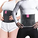 Plus Size Post Surgery Abdominal Binder I Gentle Compression Abdominal Binder for Large Women & Men I Bariatric Stomach Girdle Good for Liposuction, Hysterectomy, Postpartum, and C-Section I L/XL
