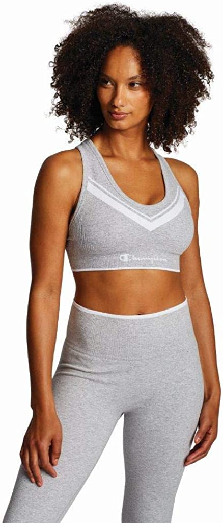 Champion Women's The Sweatshirt Chevron Racerback Bra