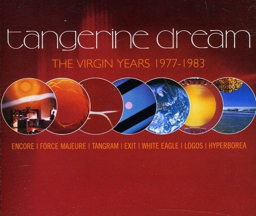 CD : Tangerine Dream - Virgin Years: 1977 - 1983 (Holland - Import, 5 Disc)