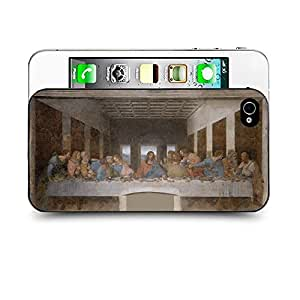 Case88 Designs Leonardo da Vinci Series The Last Supper Protective Snap-on Hard Back Case Cover for Apple Iphone 4 4s