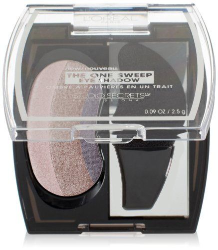 L'Oreal Paris Studio Secrets Professional The One Sweep Eye Shadow, Playful for Brown Eyes, 0.09 Ounces ()