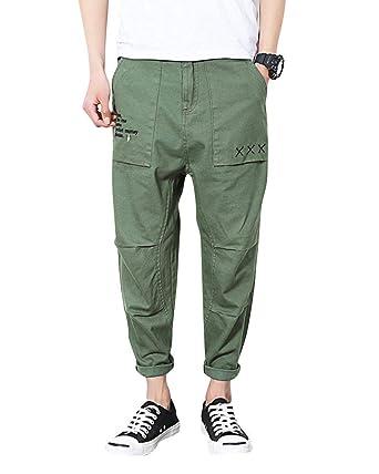 Crystallly Pantalones Casuales De De Hombres Chándal Pantalones ...