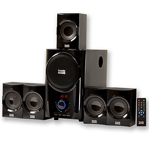 Acoustic Audio AA5160 Home Theater 5.1 Speaker System with