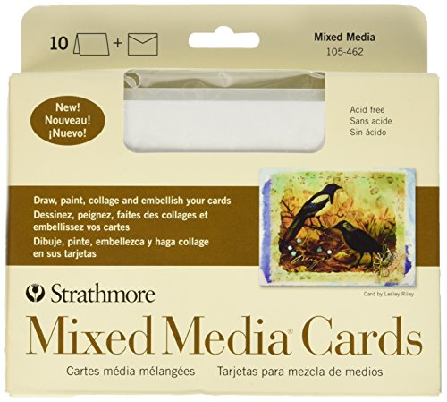Strathmore 105-462-1 Mixed Media Cards- ()