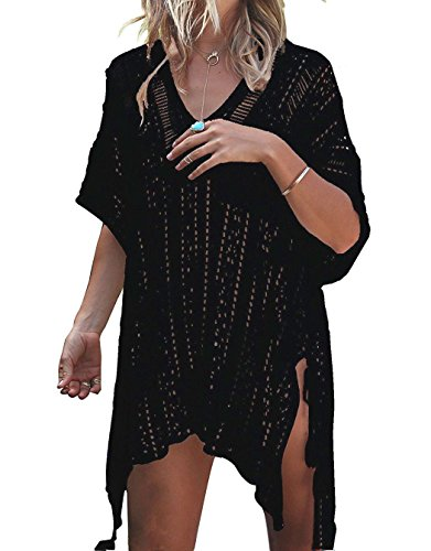 LAVENCHY Women Summer Swimsuit Bikini Beach Swimwear Crochet Cover up
