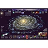 The Milky Way Poster Map Map Type: Standard (20 x 31) by National Geographic Maps