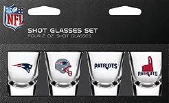 PSG NFL New England Patriots Shot Glass ...