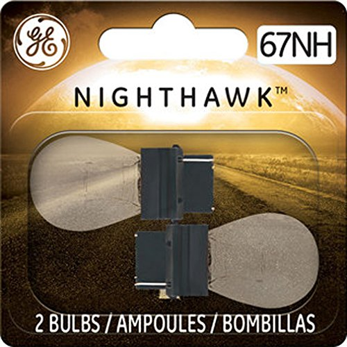 GE Lighting 67NH/BP2 Nighthawk Replacement Bulbs, 2-Pack