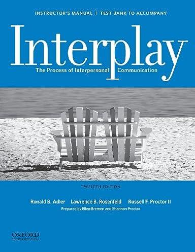 Adler Interplay Student Manual Ebook