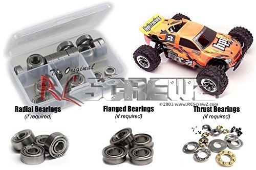 RC Screwz Metal Shielded Bearing Kit for HPI Racing MT2 Evo #hpi024b