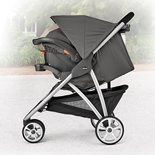 Image of the Chicco Viaro Stroller Travel System, Teak