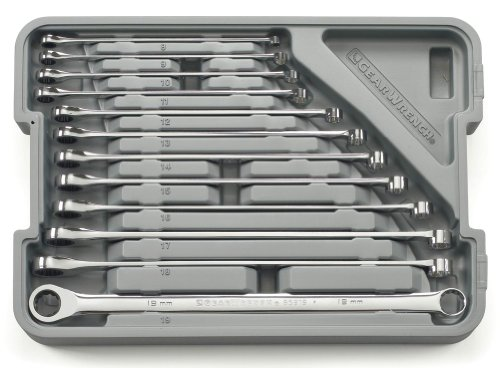 Gearwrench Set Wr Rat Xl Gearbox Met 12Pc (1 Each) 85988 ()