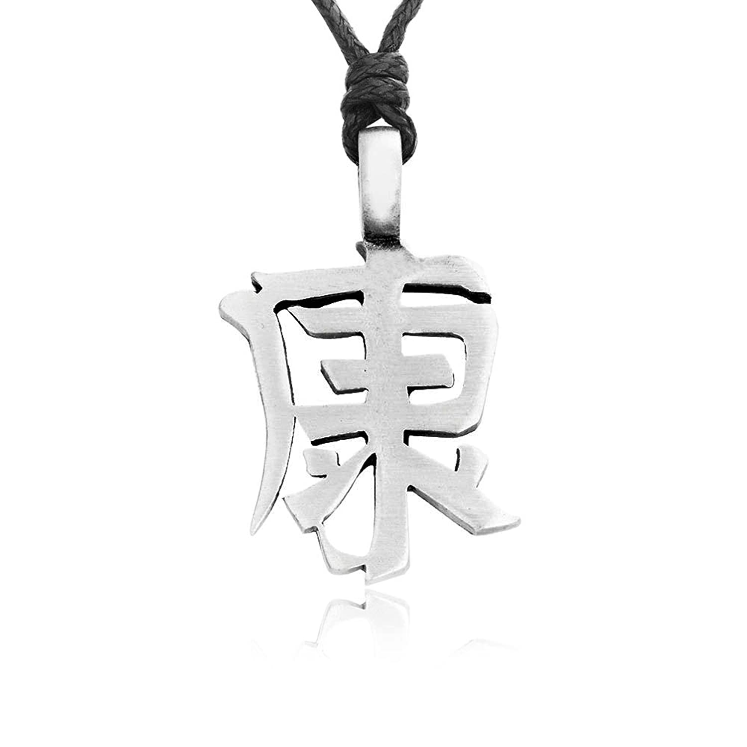 Llords jewellery chinese character necklace pendant good health llords jewellery chinese character necklace pendant good health symbol fine pewter jewelry amazon jewellery biocorpaavc Gallery