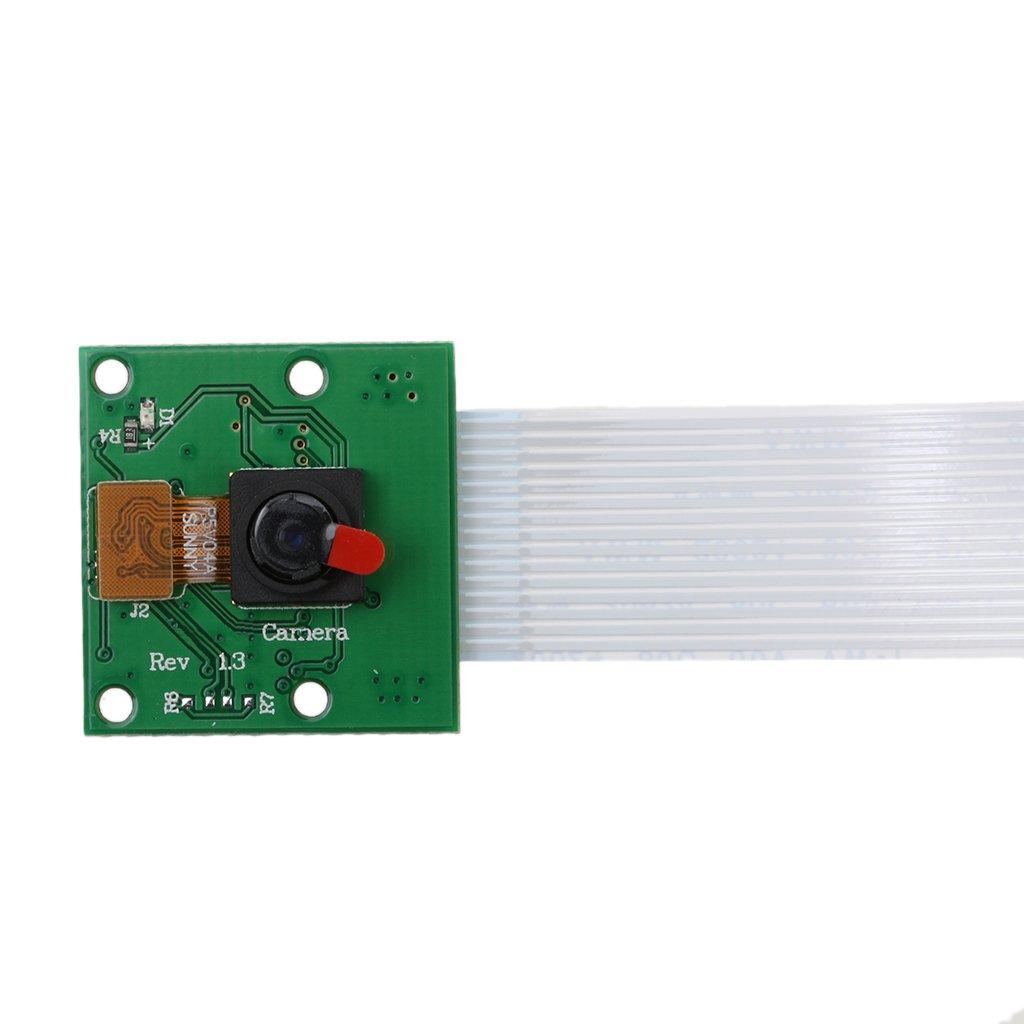 Baoblaze 5MP 1080p Capteur C/âble Module pour Arduino Raspberry Blanc