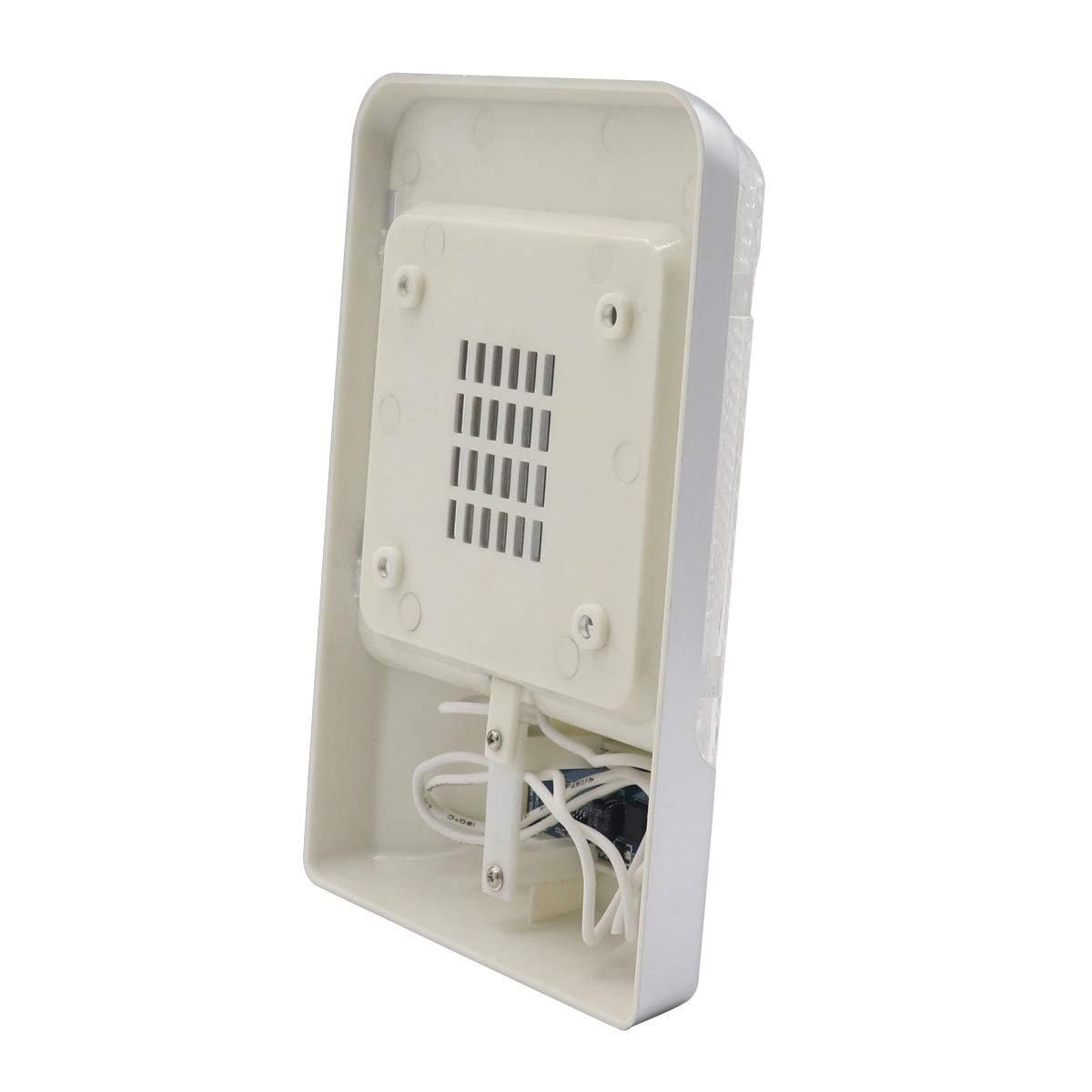 Pack Gloaso 12V 3.6W 24 LED RV Plafonnier Simple Plafonnier avec /Éclairage Int/érieur R/églable Luminosit/é Interrupteur pour Camper RV Bateau Remorque 6000-6500k Blanc 1pcs