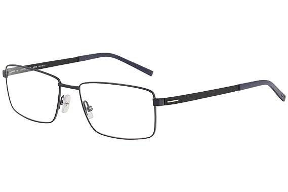 Amazon.com: Morel Eyeglasses Lightec 30039L 30039/L BN11 Blue Full ...