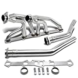 For Ford/Mercury I6 6-2-1 Design Stainless Steel Exhaust Header Kit (Polished Chrome) 144/170/200/240/250 CID