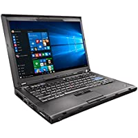 Lenovo ThinkPad T400 Laptop C2D 2.26ghz - 2GB DDR3 - 80GB HDD - DVD+CDRW - Windows 10 Home 32bit - (Certified Refurbished)