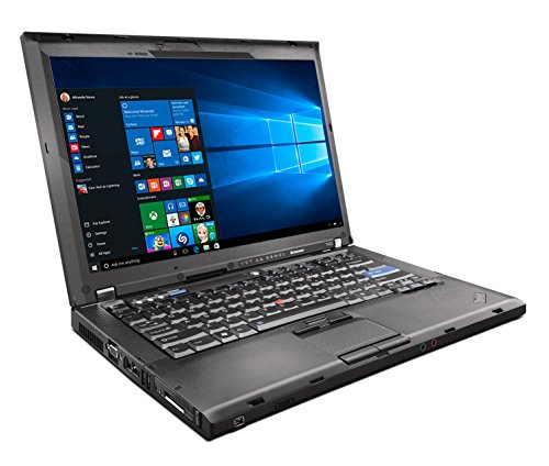 Lenovo ThinkPad T400 Laptop C2D 2.40ghz - 2GB DDR3 - 120GB HDD - DVD+CDRW - Windows 10 Home 32bit - (Renewed) ()