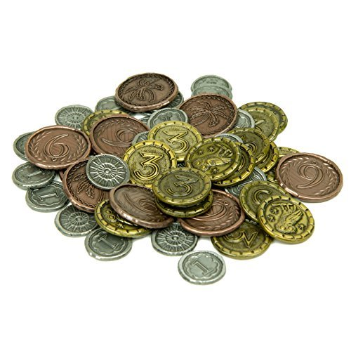 The Broken Token Wondrous Metal Coins for 7 Wonders (57)