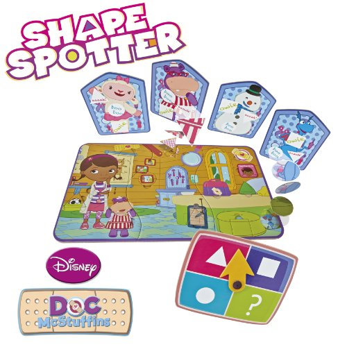 Disney Junior Doc Mcstuffins Shapespotter Amazoncouk Toys Games - Doc games