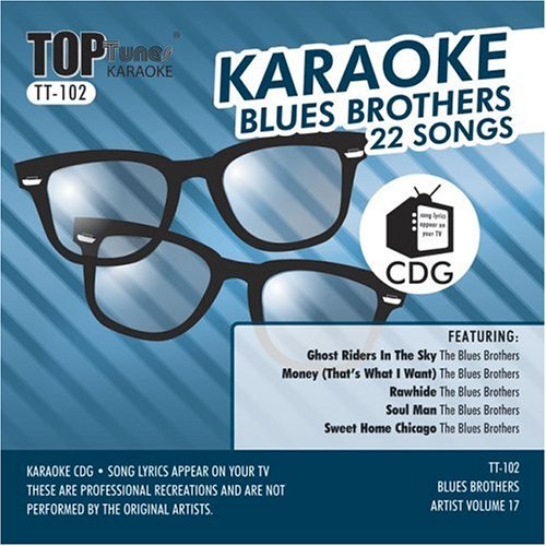 (Top Tunes Karaoke Blues Brothers Artist Vol. 17 TT-102)