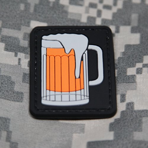 NEO Tactical Gear Beer PVC Rubber Tactical Military Morale Patch - Hook Backed