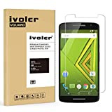 Motorola Moto X Play Screen Protector- iVoler® Premium Tempered Glass Screen Protector for Motorola Moto X Play- 0.2mm Ballistics Glass, 2.5D Round Edge, 9H Hardness Featuring Anti-Scratch, Anti-Fingerprint, Bubble Free- Lifetime Replacement Warranty