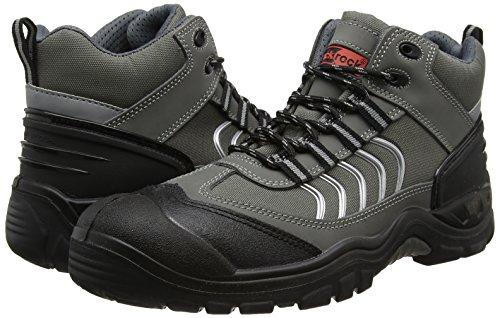 Blackrock  SF49,  Unisex - Erwachsene Sicherheitsschuhe, Grau - Grau/Schwarz - Größe:  46 EU (11 UK) Grau/Schwarz