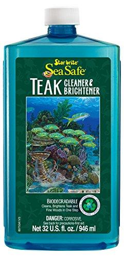 Star brite Sea Safe Teak Cleaner / Brightener - 32 oz