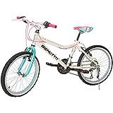 Benotto Bicicleta Melody MTB Acero R20 21V Niña Sunrace Frenos V