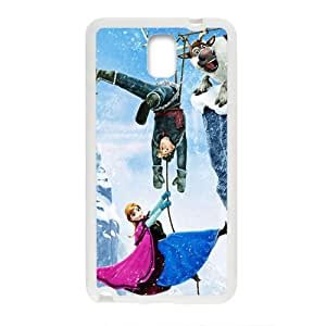 Frozen Princess Anna Kristoff Olaf Sven Cell Phone Case for Samsung Galaxy Note3