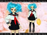 Doll with wig Doll Costume Set sailor JK Corde Cherry Blossom Mini Dollfie Dream MDD corresponding