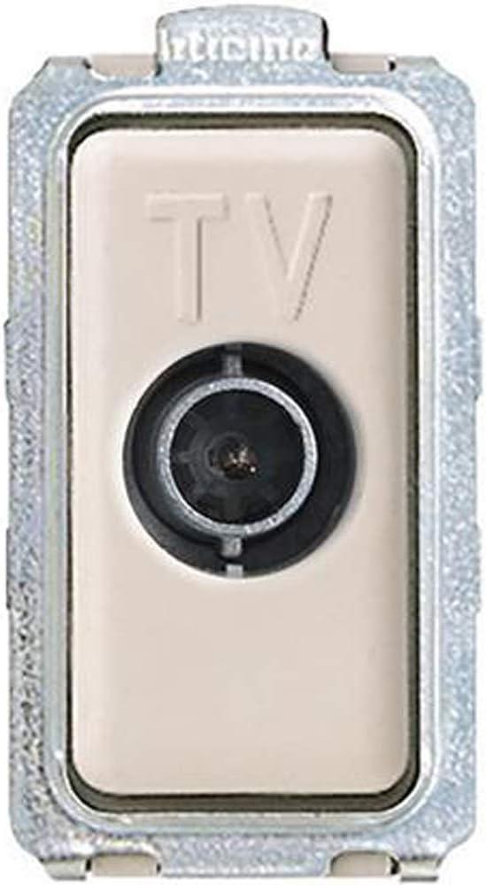 Bticino 5202d Magic Toma TV Directa, 1 m